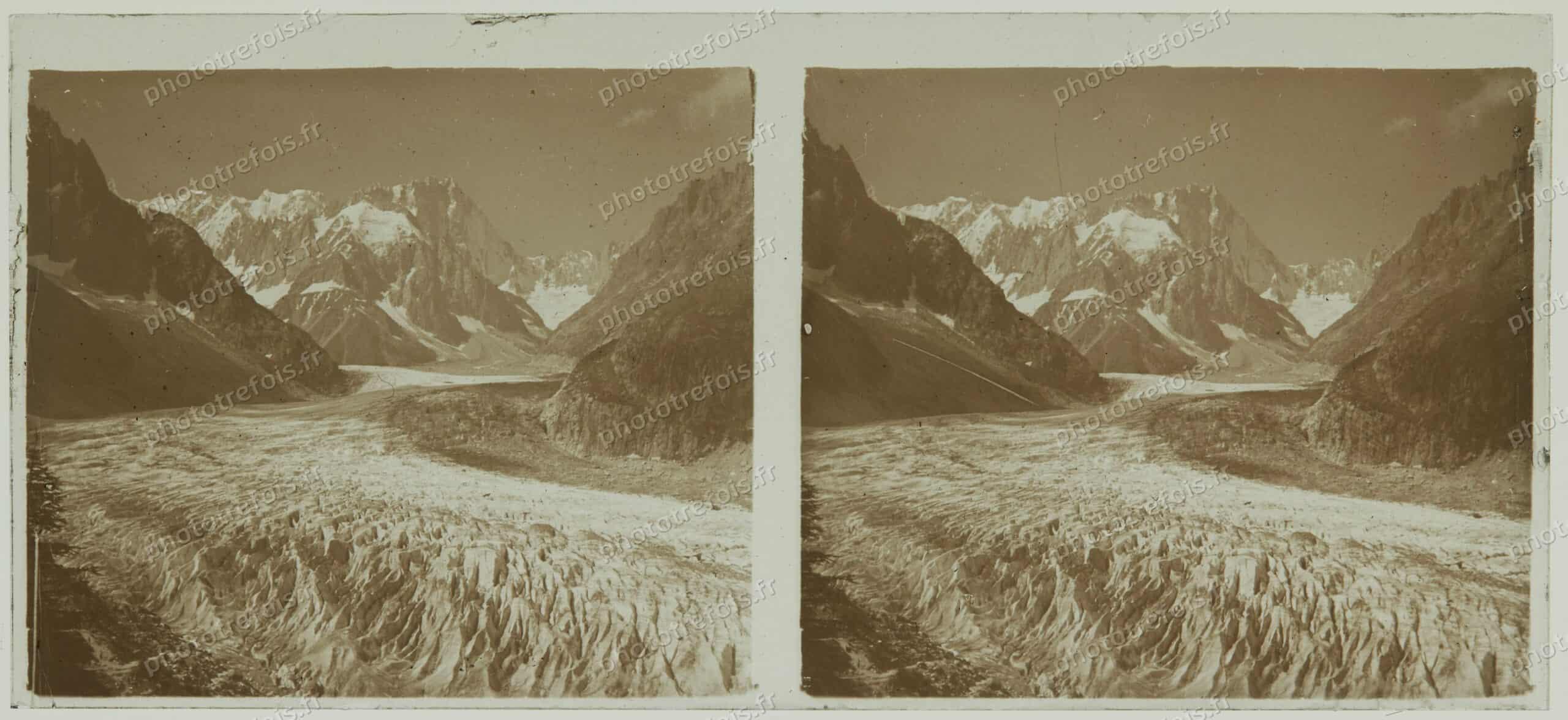 Photos prises en montagne